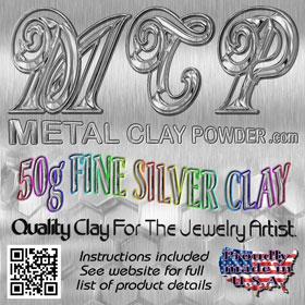 Art Clay Silver Dry Clay 10 Grams